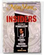 Dennis Levine on the July 28, 1986 issue of New York magazine.