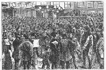New York's Gold Room on Black Friday, Sep. 24, 1869.