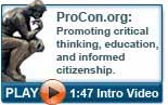 Video introduction to ProCon.org and the pros and cons of controversial topics